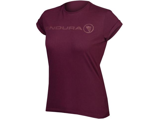 Endura One Clan Light T-Shirt Dames, mulberry
